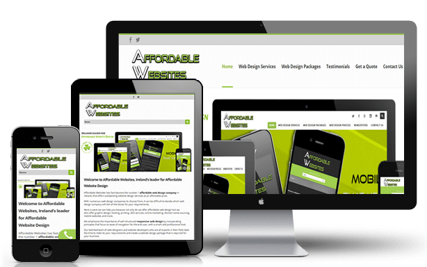 Web Design Packages Affordable Websites Ireland