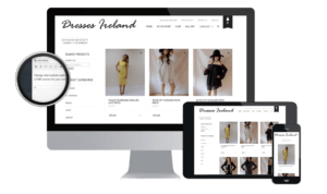 Ecommerce Website Design by www.affordablewebsites.ie