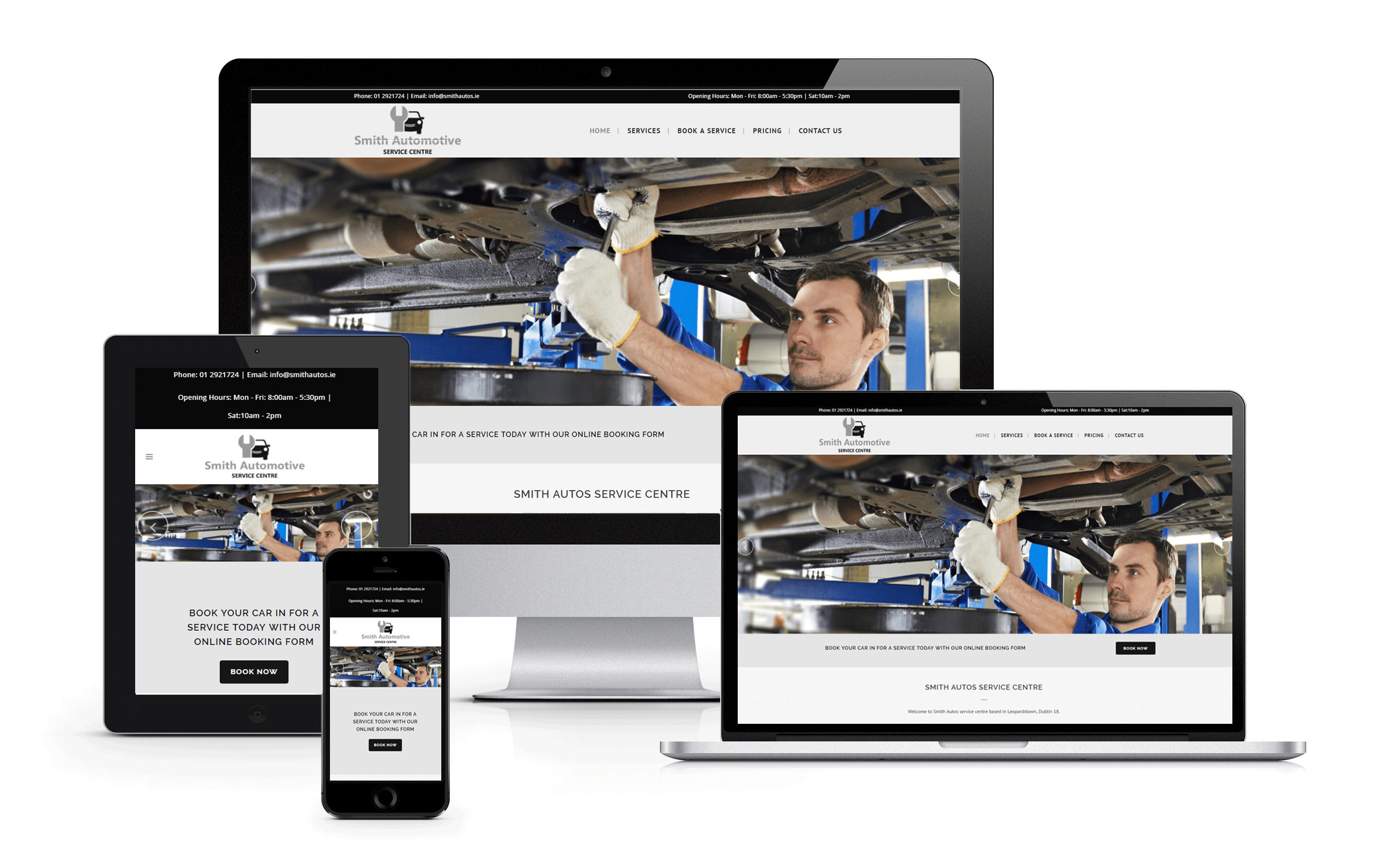 Website Redesign Smith Automotive